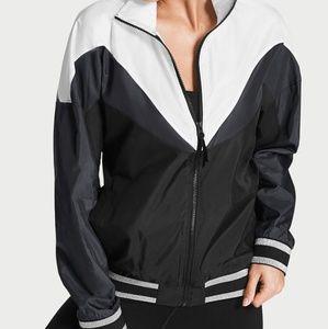 Victoria Sport Full Zip Windbreaker Jacket sz LG